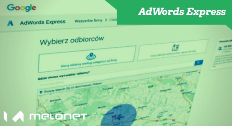 Reklama AdWords Express dla firm lokalnych