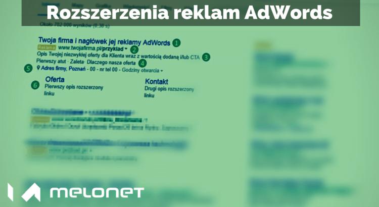 Rozszerzenia reklam w Google AdWords