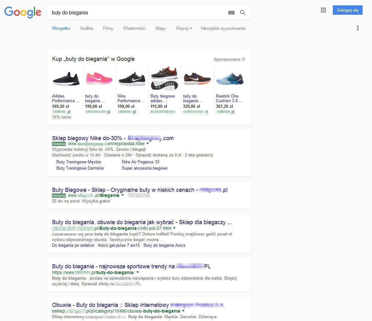 Nowy wygląd wyników wyszukiwania 2016