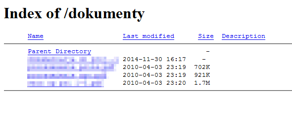 Wyświetlanie drzew katalogów i plików na serwerze