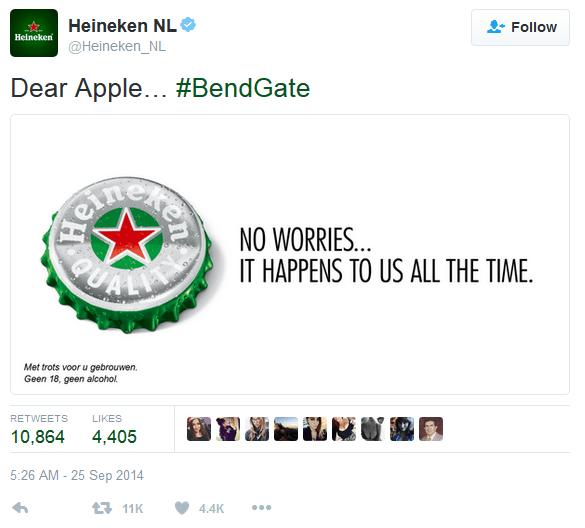 Heineken RTM - odpowiedź Apple