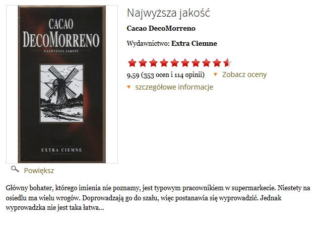 Kakao hitem Internetu - książka Extra Ciemne