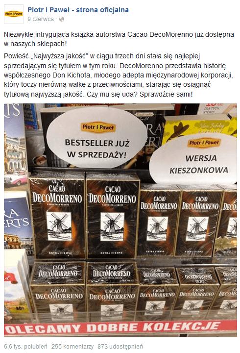 Piotr i Paweł - marketing Decomorenno