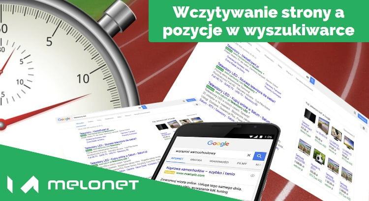 Wpływ szybkości strony na ranking Google