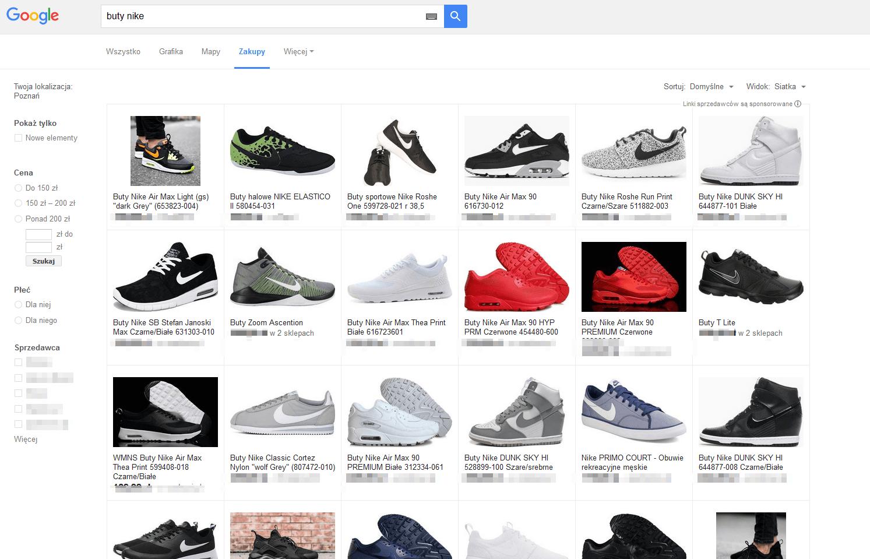 Pełny widok w zakupach Google
