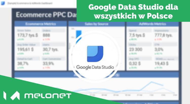 Studio danych juz dostępne w Polsce