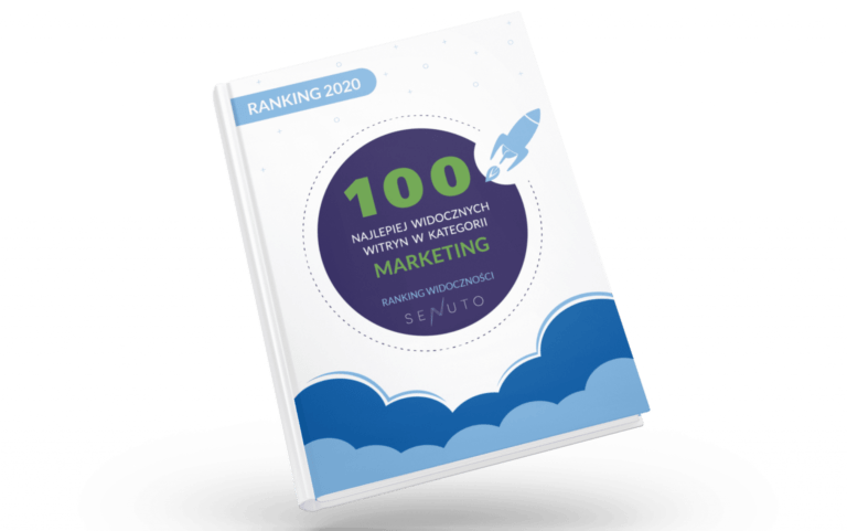 TOP najbardziej widoczne strony marketingowe - raport